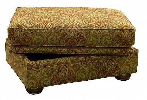 Kingsley Storage Ottoman