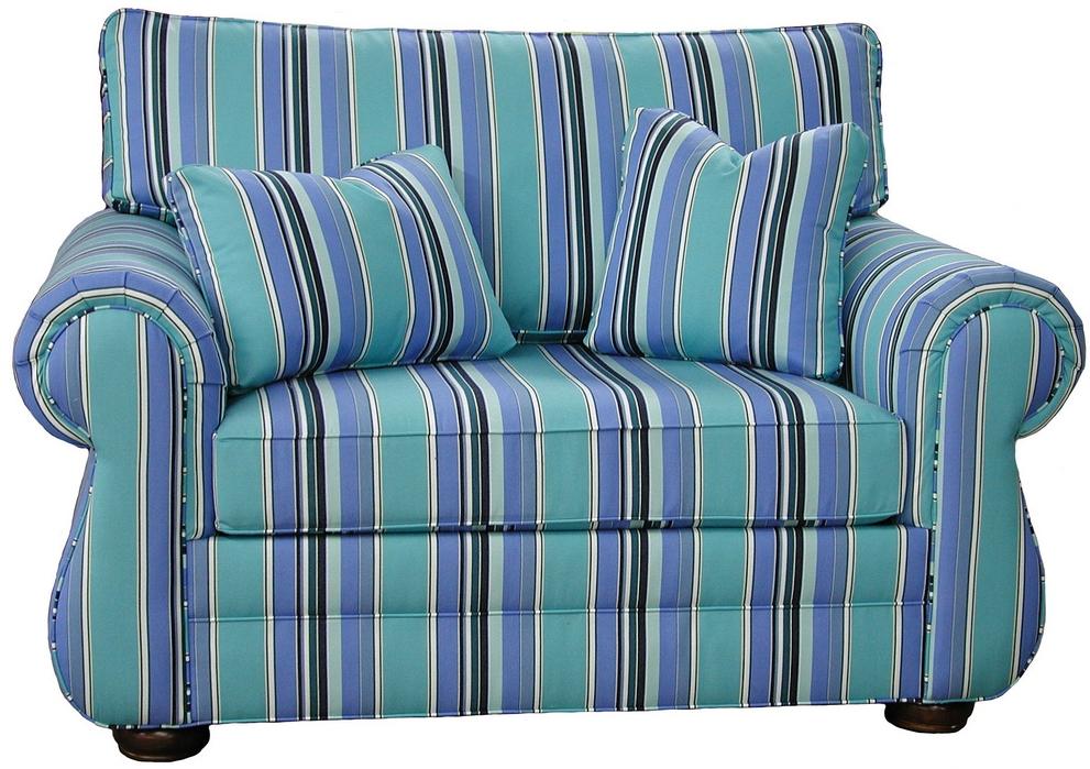 Kingsley Chair And Half Sleeper Carolina Chair American Made Usa Nc Furniture Free Shipping