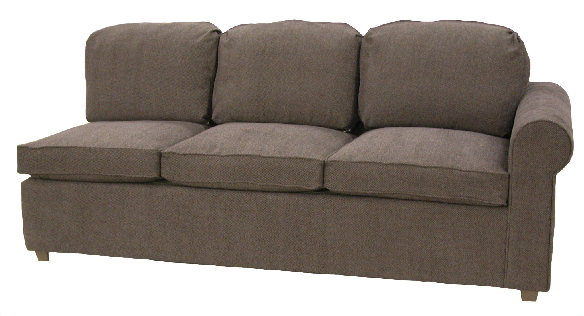 Roth 1-Arm Queen Sleeper Sofa Right Facing