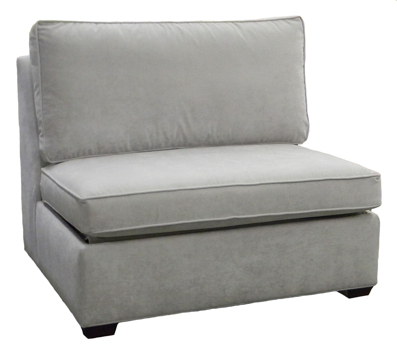 Crawford Armless Single Sleeper Sofa
