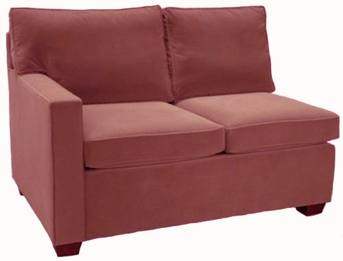 Crawford 1-Arm Twin Sleeper Sofa Left Facing