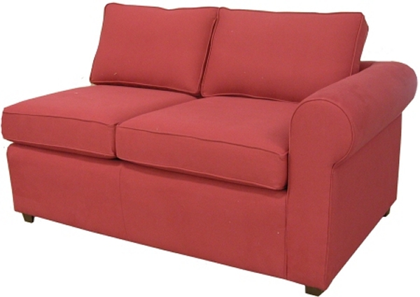 Yeats 1-Arm Loveseat Right Facing