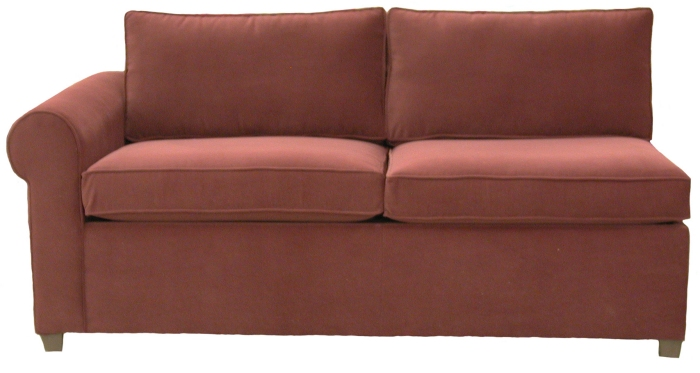 Yeats 1-Arm Full Sleeper Sofa Left Facing