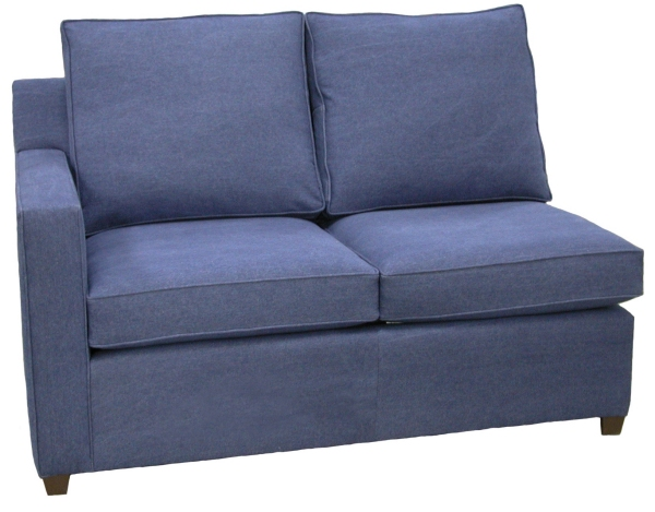 Hall 1-Arm Loveseat Left Facing