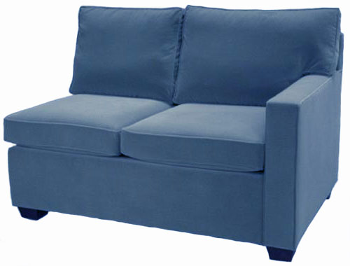 Crawford 1-Arm Full Sleeper Sofa Right Facing