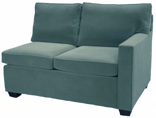 Crawford 1-Arm Loveseat Right Facing