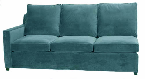 Hall 1-Arm Sofa Left Facing