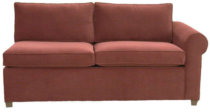 Yeats 1-Arm Full Sleeper Sofa Right Facing