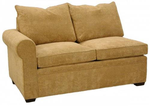 Byron 1-Arm Loveseat Left Facing