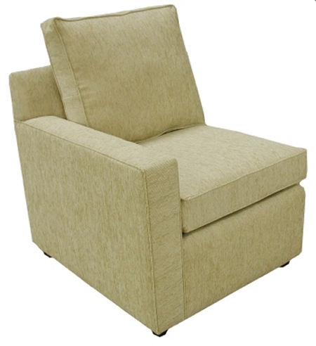 Hall 1-Arm Chair Left Facing