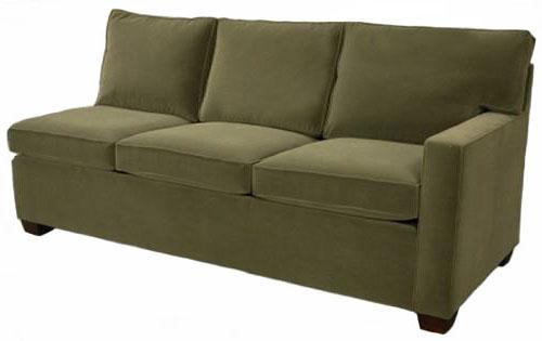 Crawford 1-Arm Queen Sleeper Sofa Right Facing