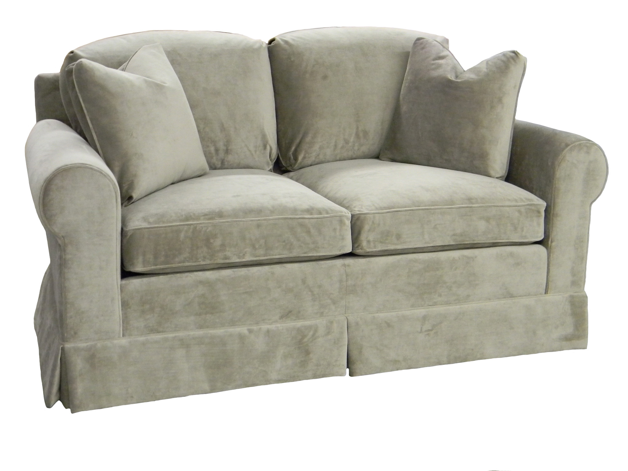 Hughes Loveseat Small Sofa Carolina Chair