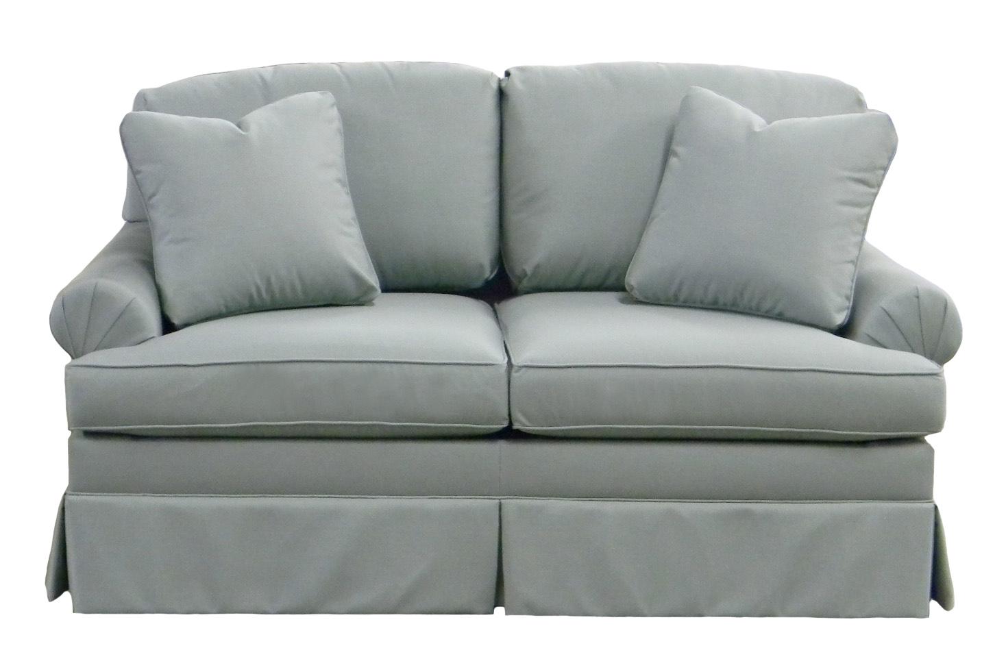Lewis Twin Sleeper Sofa Carolina Chair American Made Usa Nc Furniture Free Shipping