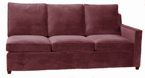 Hall 1-Arm Queen Sleeper Sofa Right Facing