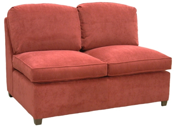Roth Sectional Armless Full Sleeper Sofa Carolina Chair