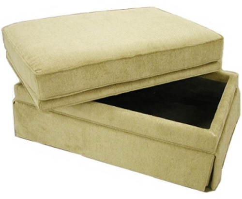 Bishop Storage Ottoman