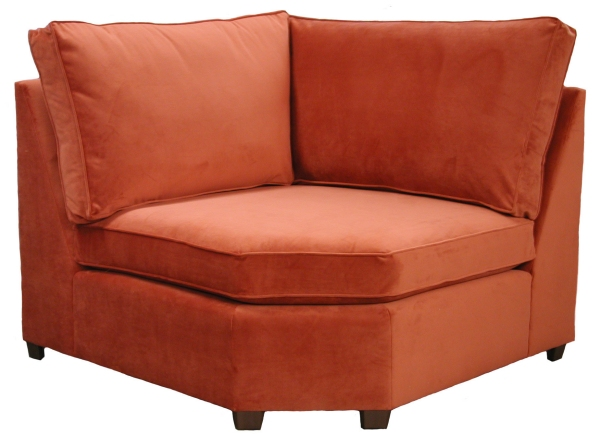 Hall Sectional Sofa Corner Wedge - Carolina Chair