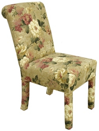 Sidney Welted Bottom Parsons Dining Chair Carolina Chair