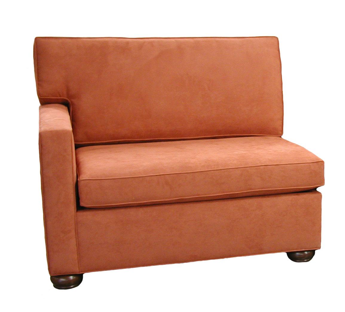 crawford sectional single sleeper sofa left facing. Black Bedroom Furniture Sets. Home Design Ideas