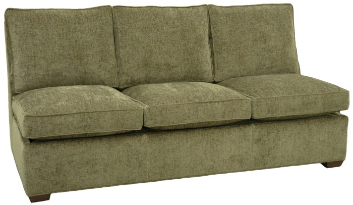 Crawford Sectional Armless Queen Sleeper Sofa Carolina