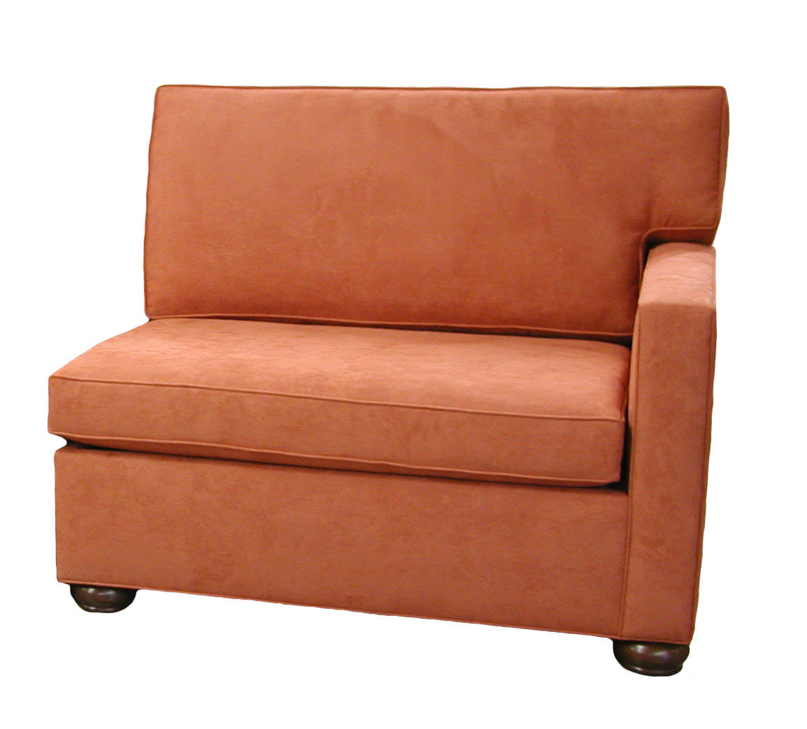 Crawford 1-Arm Single Sleeper Sofa Right Facing