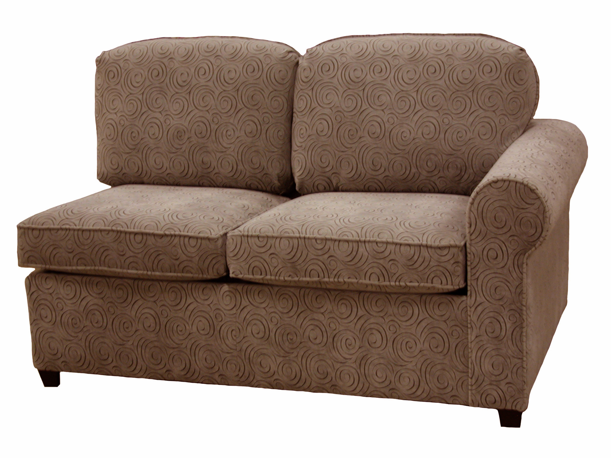 Roth 1-Arm Twin Sleeper Sofa Right Facing