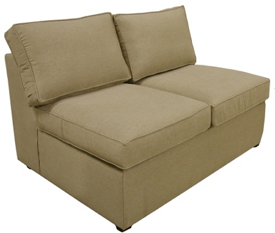 Yeats Armless Twin Sleeper Sofa