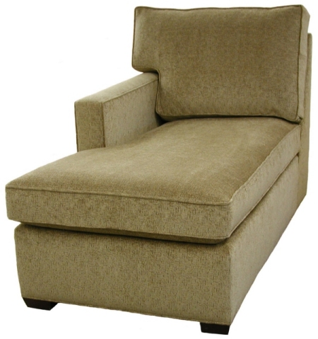 Crawford 1-Arm Chaise Left Facing