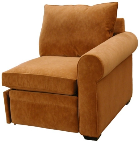 Byron 1-Arm Recliner Right Facing