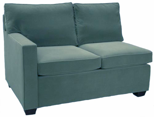 Crawford 1-Arm Loveseat Left Facing