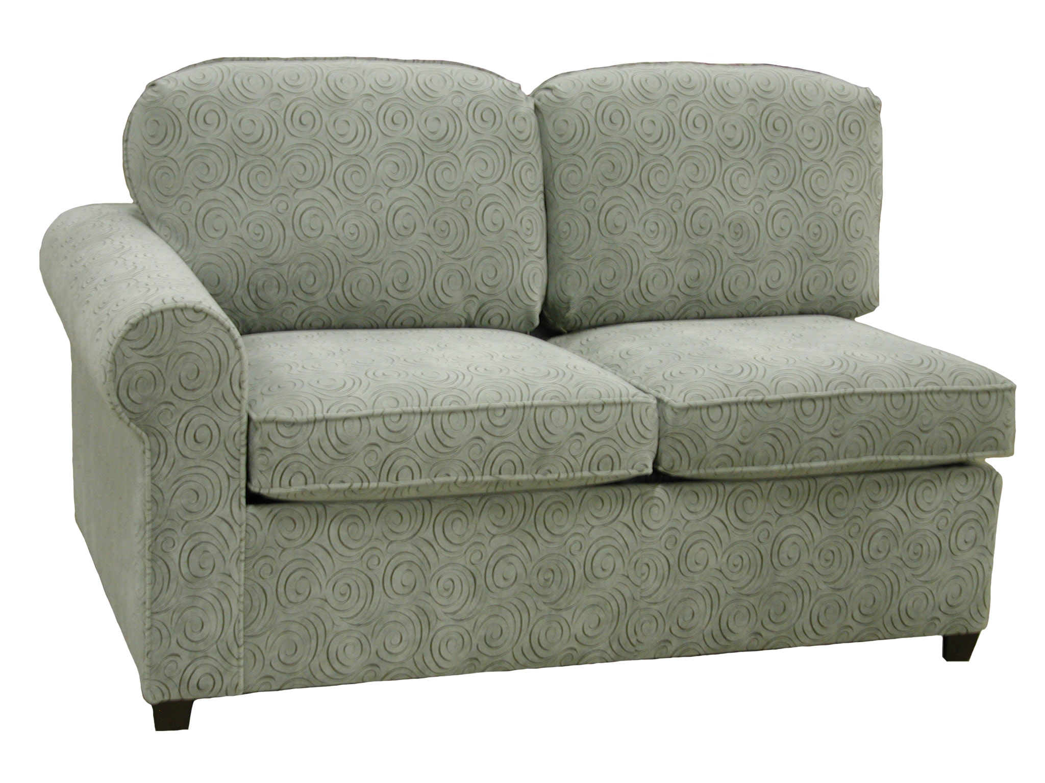 Roth 1-Arm Twin Sleeper Sofa Left Facing