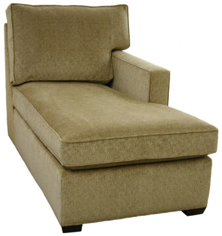 Crawford 1-Arm Chaise Right Facing