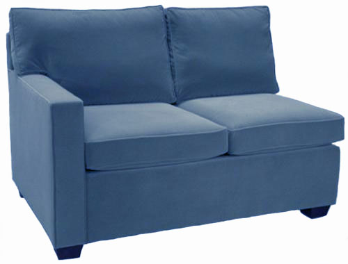Crawford 1-Arm Full Sleeper Sofa Left Facing