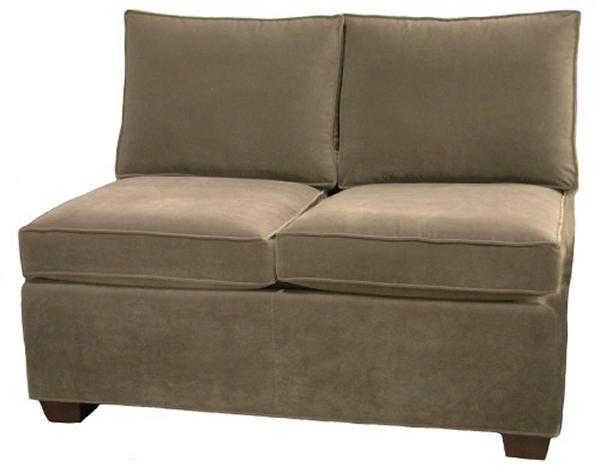 Crawford Sectional Armless Twin Sleeper Sofa Carolina Chair North Carolina Amercian Usa