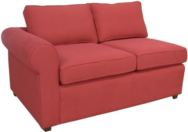 Yeats 1-Arm Twin Sleeper Sofa Left Facing
