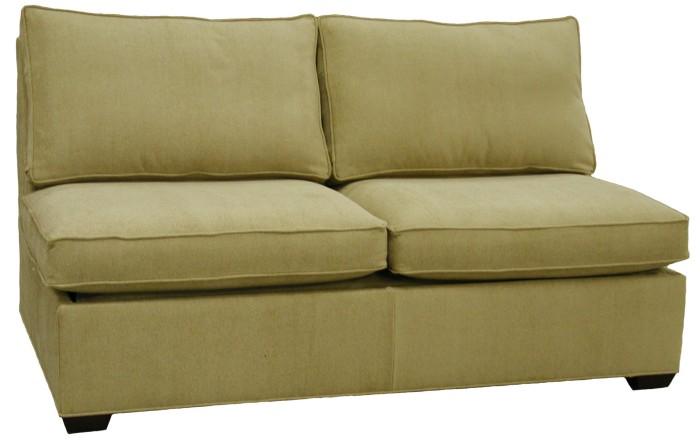 Crawford Sectional Armless Full Sleeper Sofa Carolina
