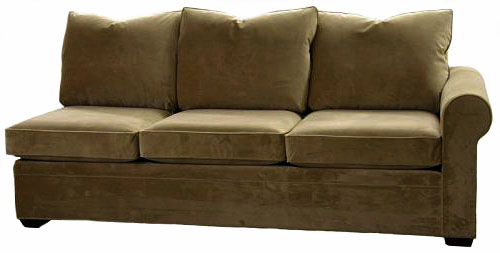 Byron 1-Arm Sofa Right Facing