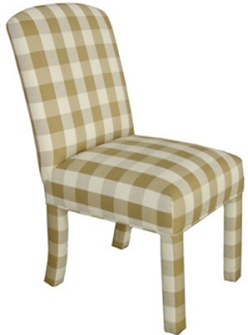 Whitney Welted Bottom Parsons Dining Chair Carolina Chair