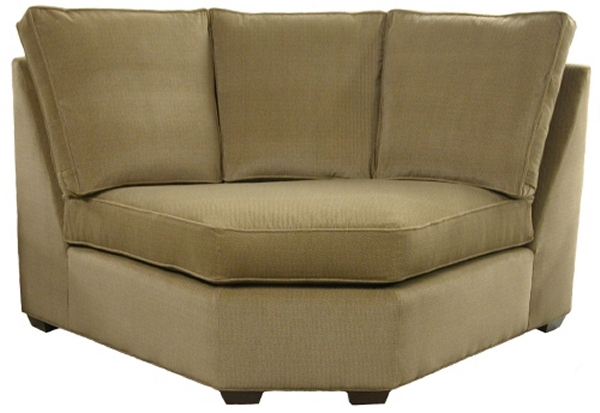 Crawford Sectional Sofa Curved Corner Wedge Carolina Chair North ...